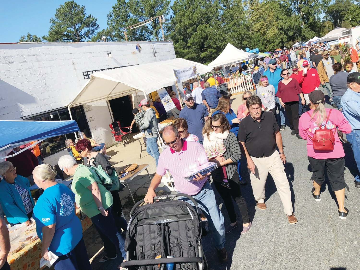 Always a popular event, the  32nd annual Old Fashion Day in Goldston — above is a photo from last year's event — will get underway downtown from 9 a.m. to 4 p.m. on Saturday, October 12.