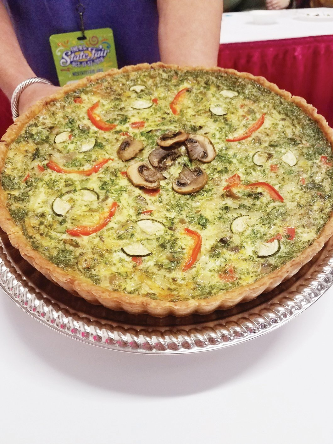 The most amazing quiche ever.