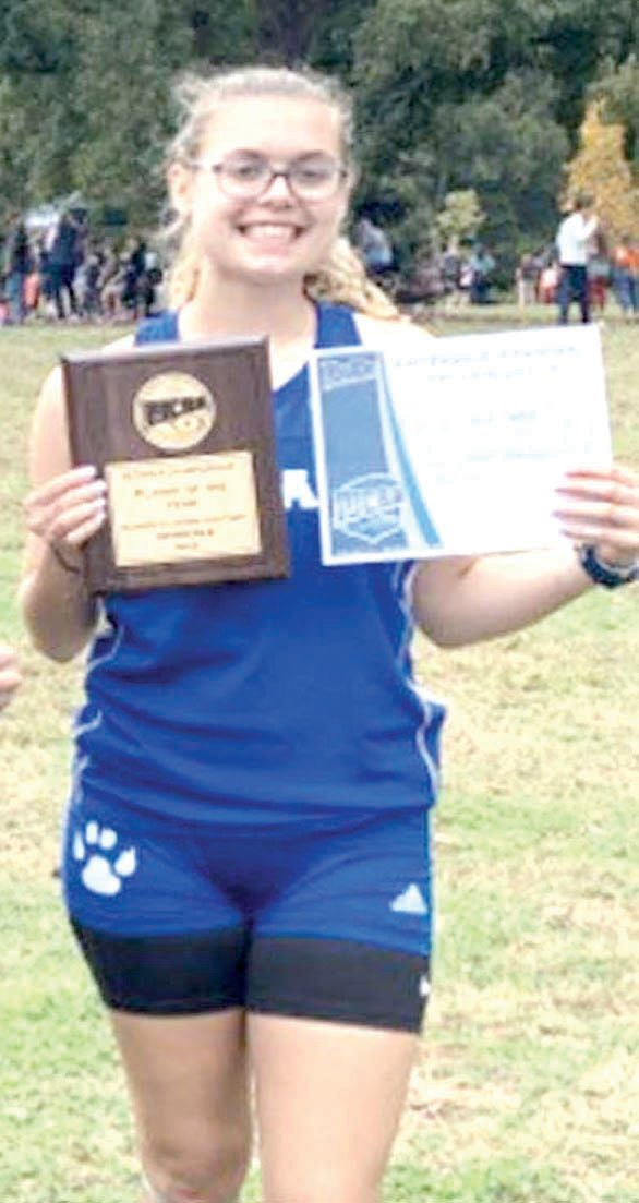 Pittsboro's Anna Trotter represented Central Carolina Community College at the National Junior College Athletic Association (NJCAA) Division III Cross Country Championships on Saturday, Nov. 2 at Stanley Park in Westfield, Mass.