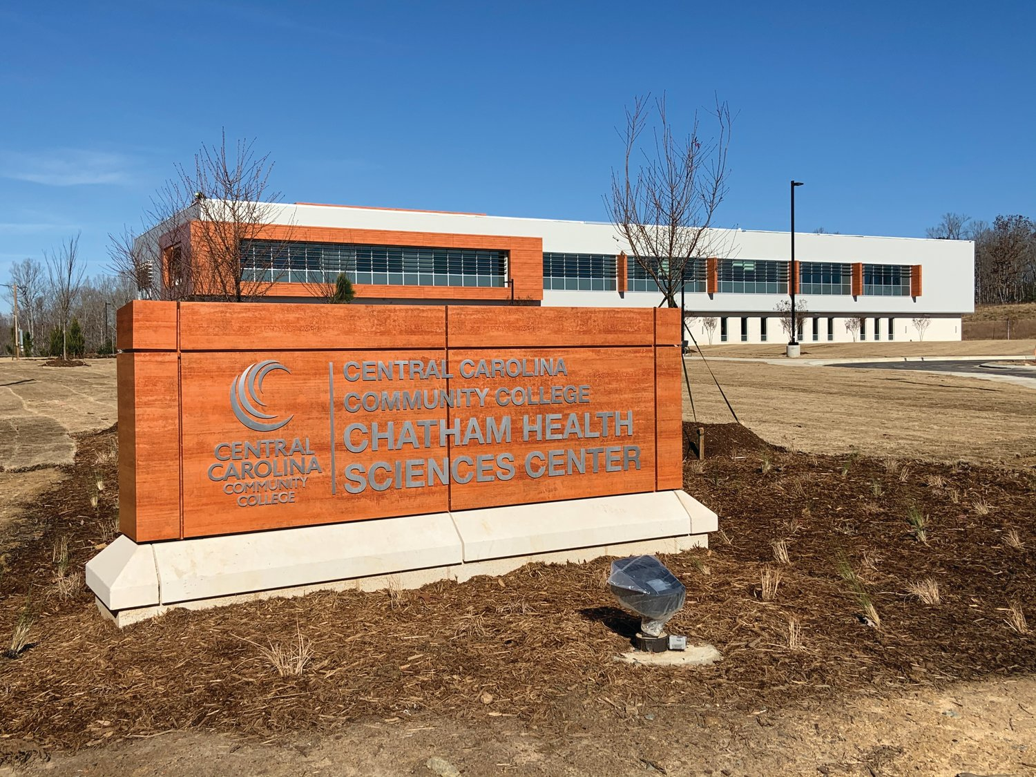 The new Chatham Health Sciences Center of Central Carolina Community College, which sits by Briar Chapel off of U.S. Hwy. 15-501 in Chapel Hill, will open for students on Jan. 13.