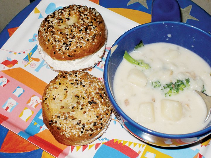 Serious Eats Bagels, crafted by Debbie Matthews.