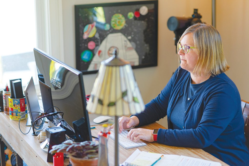 Dolly Sickles, an author of romance novels and children's books, said she has been on a creative hot streak in recent months. She's halfway through writing a new romantic suspense novel, and hopes to have it ready to shop to publishers around June 1. She's also working with an illustrator on a new children's book that they'll publish around the holidays.