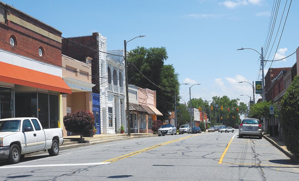 Some downtown Siler City businesses have struggled to gain solid financial footing as the town's economy improves, but COVID-19 has hampered those gains.
