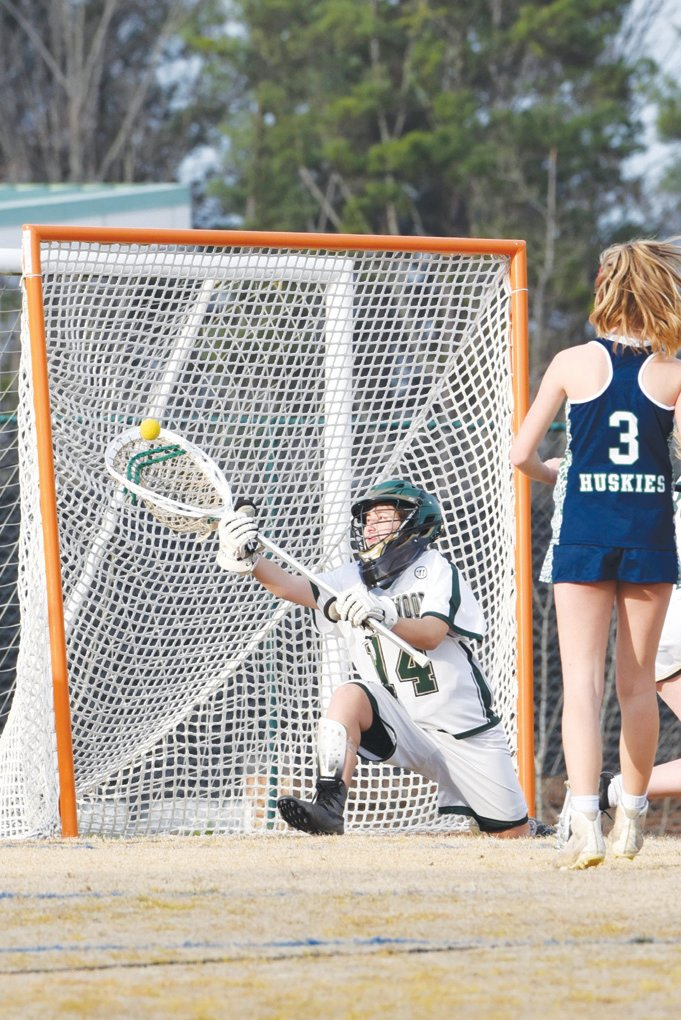 Northwood's Madi Horrell played two seasons of JV men's lacrosse and two seasons of varsity women's lacrosse.