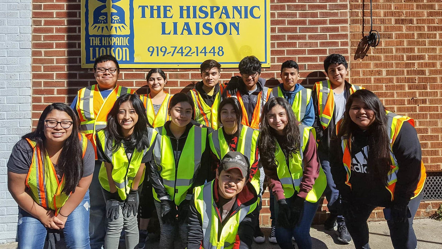Orgullo Latinx Pride members participated in Siler City's Litter Sweep to celebrate Earth Day back in 2019. Throughout two hours, they picked up nearly 10 bags' worth of trash off of N. Chatham Ave.