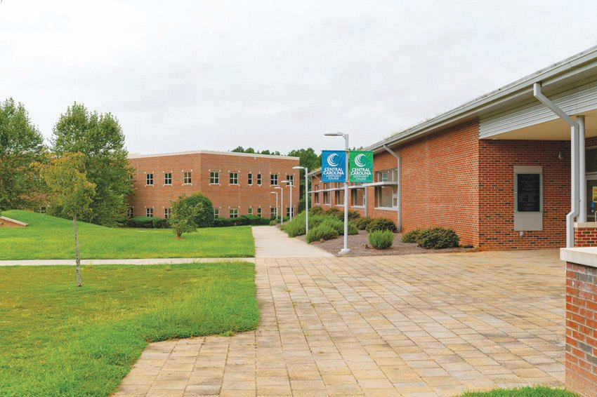 Along with many other colleges in the state, Central Carolina Community College is facing enrollment declines this fall. Their Chatham campus, pictured here, is a little quieter than the main campus in Lee County.