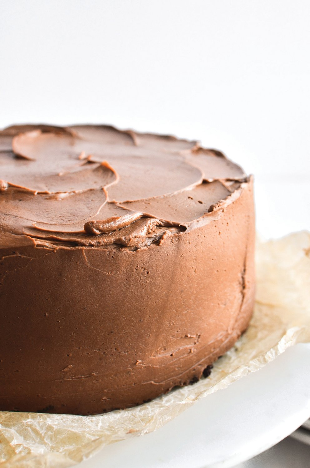 A chocolate cake is a wonderful complement to a meal — or by itself.