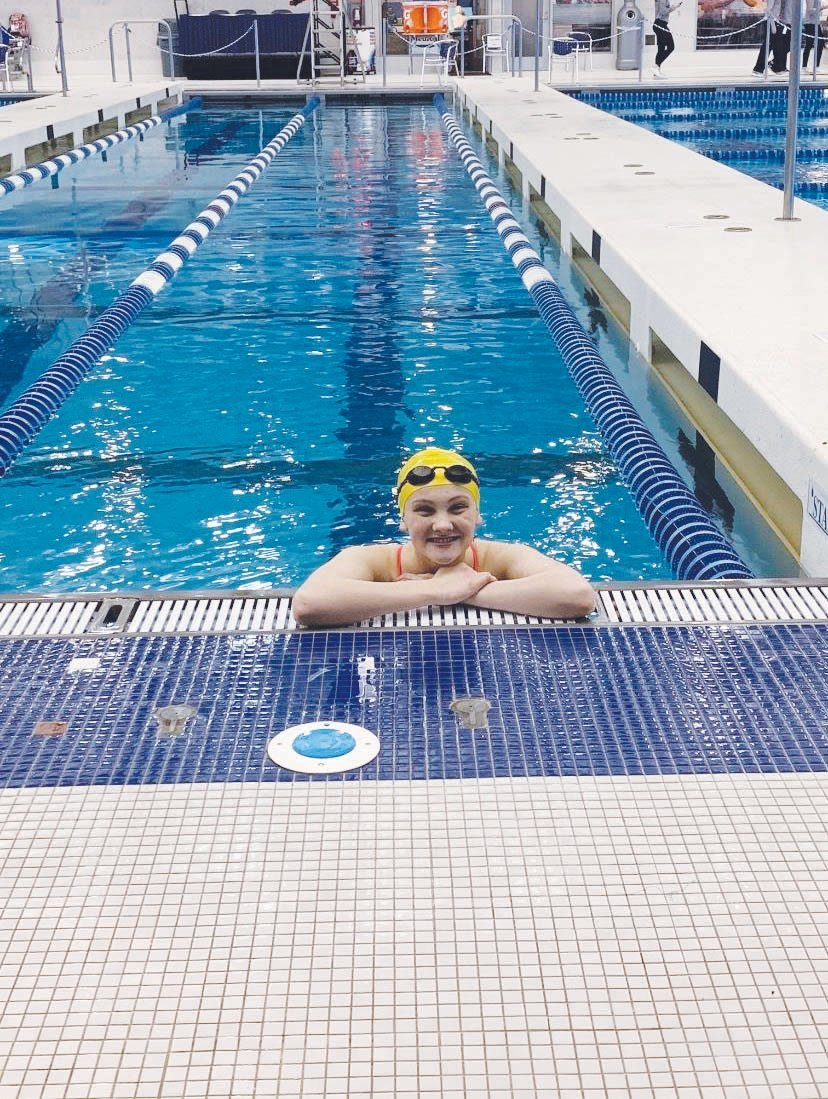 Siler City's Jenna Fadley, now a record-holding state champion, has aspirations of competing for the U.S. Olympic swim team one day.