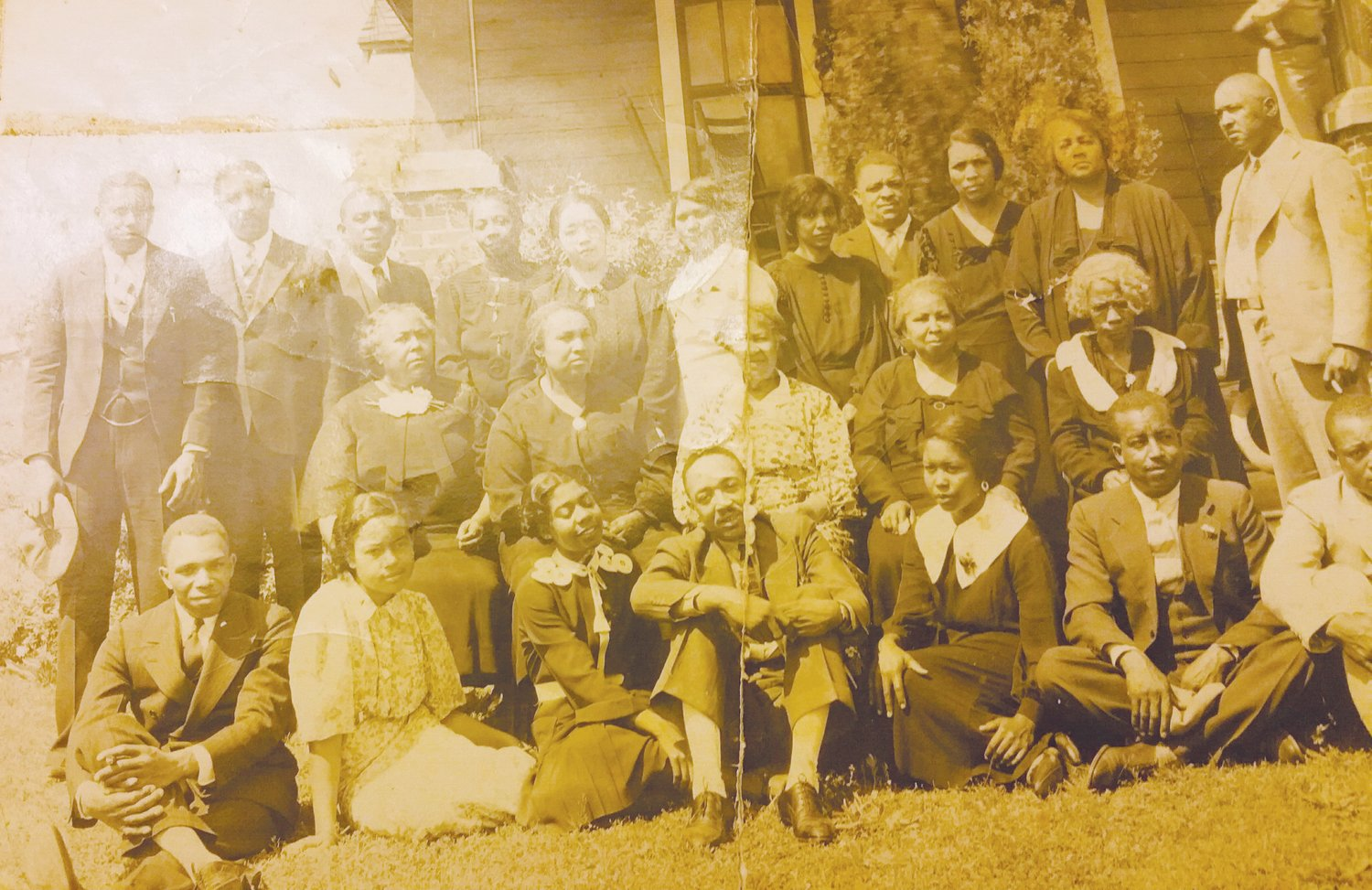 A Taylor family photo discovered by Antonio Austin as a part of his genealogical research.