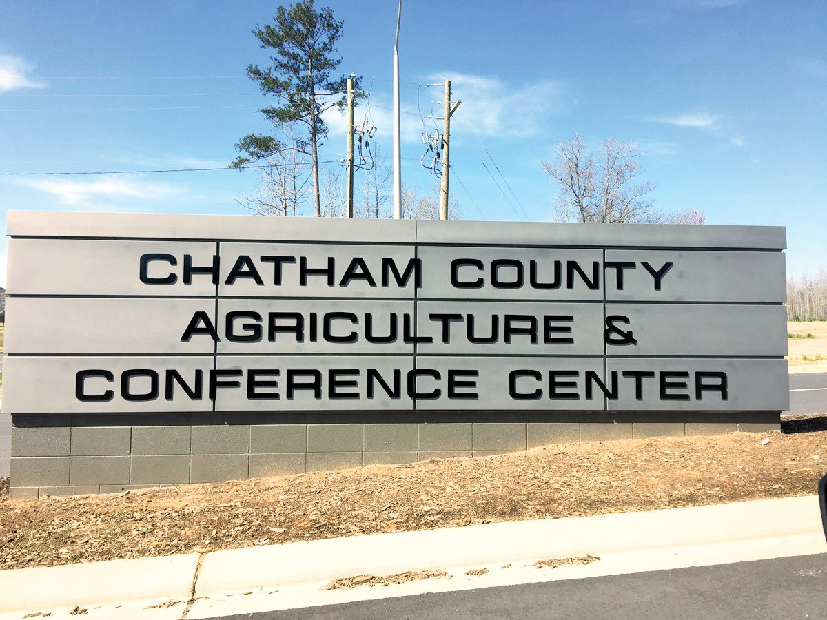 Chatham County's Agriculture & Conference Center in Pittsboro.