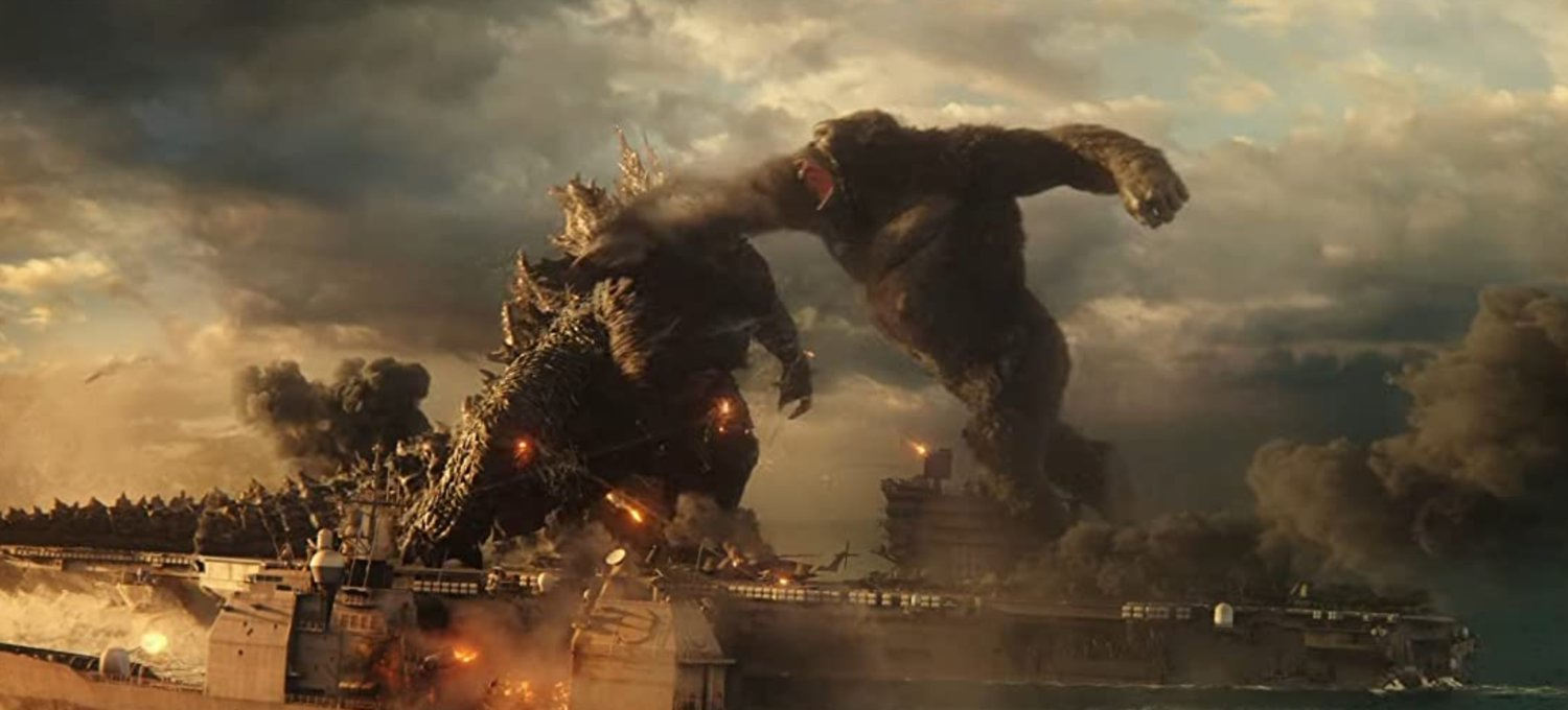 Godzilla vs. Kong, in theaters now.