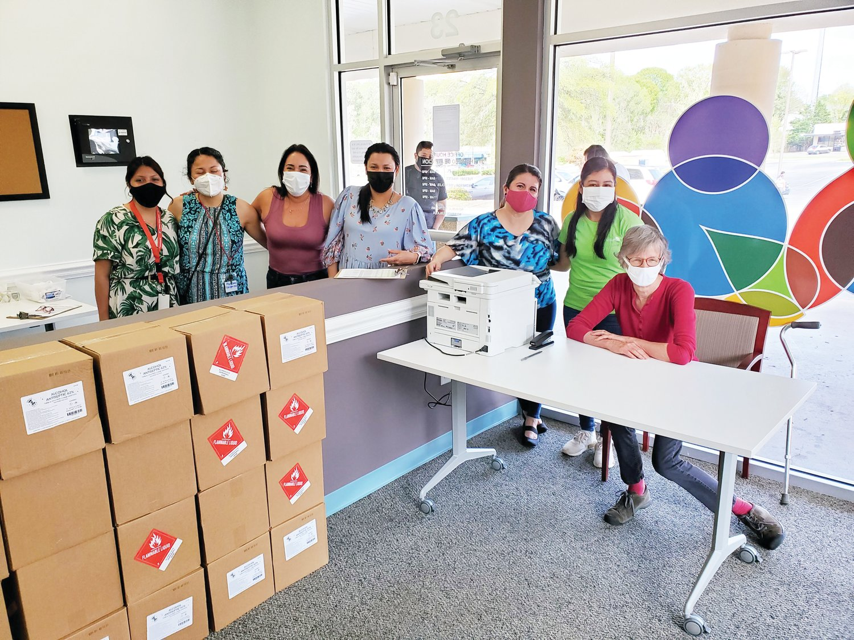 El Futuro begins vaccination drive for the Latino community