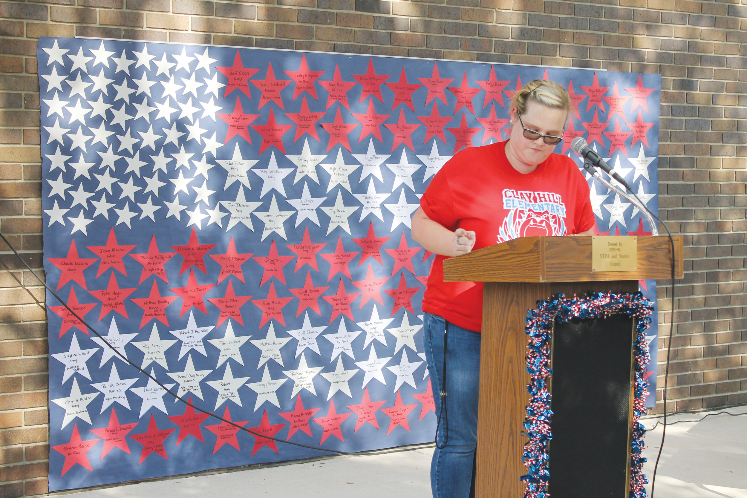 Proposal Essay Clay Hill Elementary School Celebrated Americas Veterans On Nov  With  Essays And Song Compare And Contrast Essay Sample Paper also Mental Health Essay Students Celebrate Veterans Day With Song  Clay Today Essay On Business Management