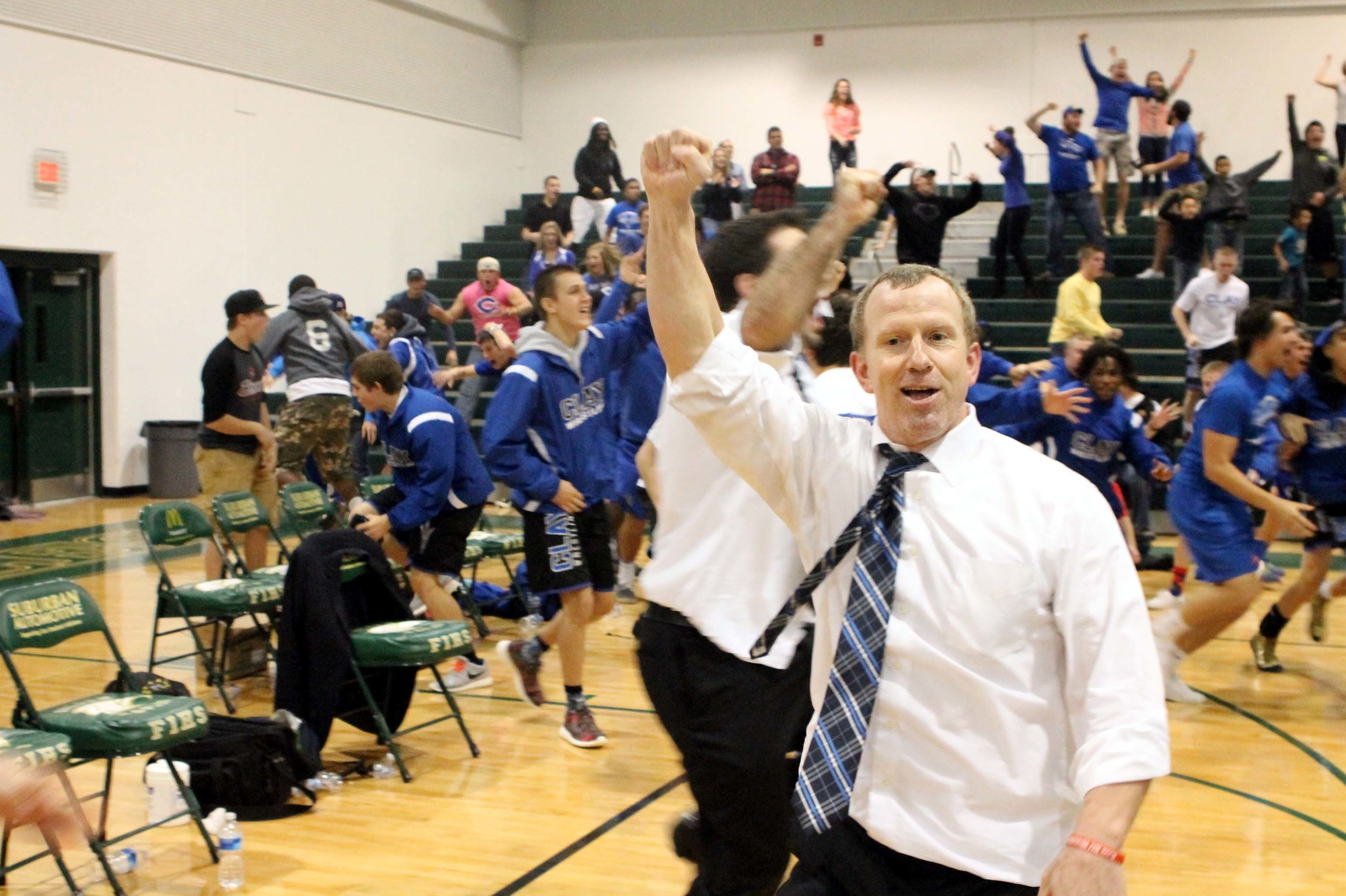 Clay High wrestling coach Jim Reape got another notch on his belt after yet another thrilling dual match win over Fleming Island.