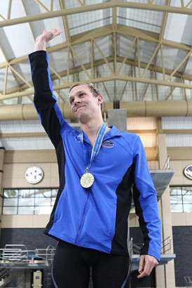 Clay High grad Caeleb Dressel had a field day at the SEC Swimming championships with six gold medals.