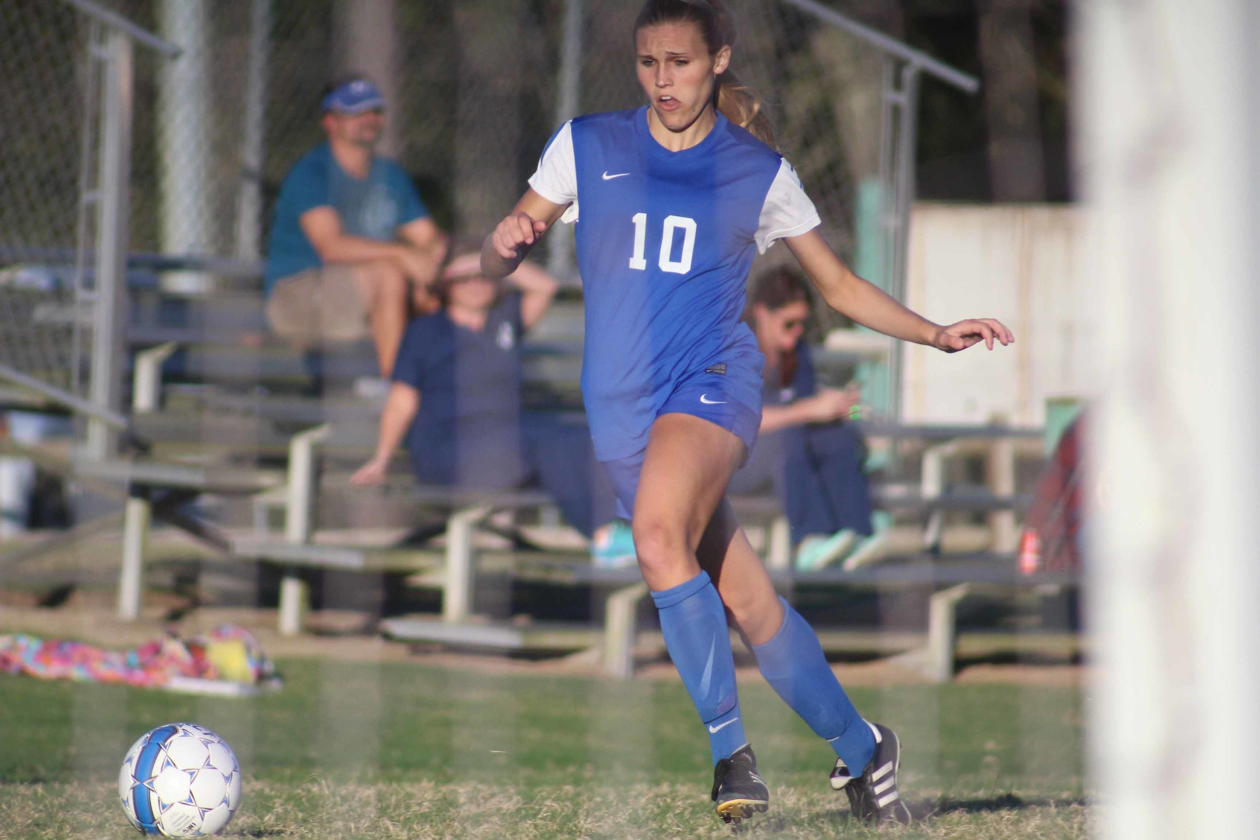 Clay High junior Lissy Stoffel scored 28 goals with an amazing 55 assists as the Blue Devils competed in same district as Ponte Vedra.