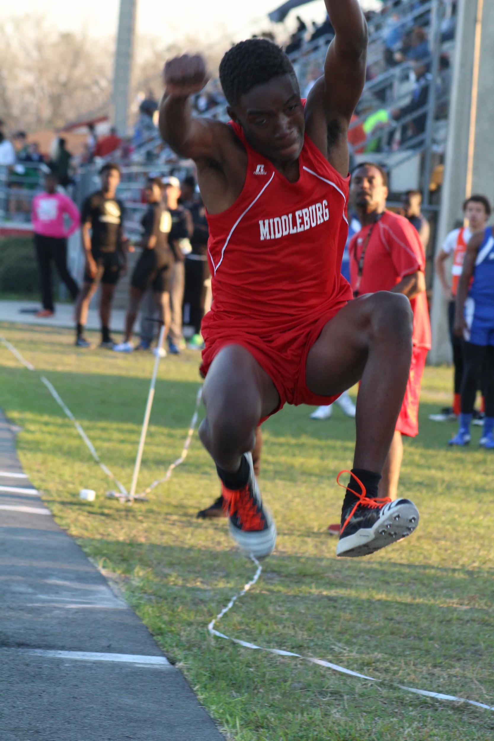 Triple Jump champion