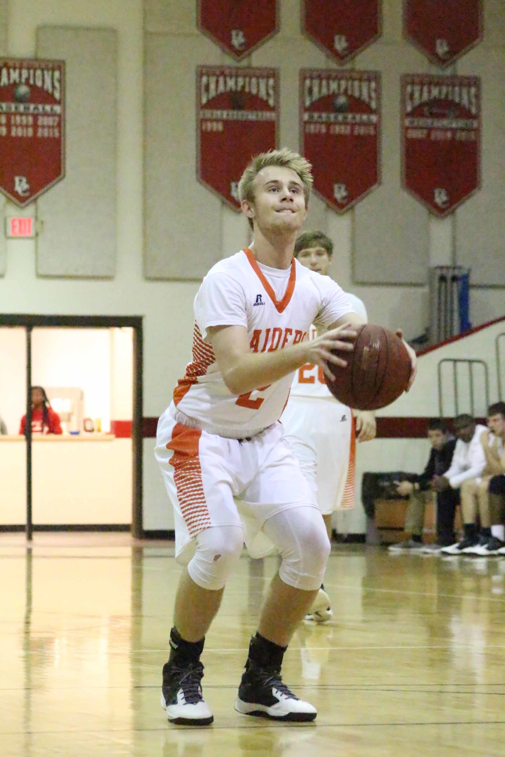 Orange Park High junior sharpshooter Blake Partin's long range three-pointers turned games around quickly for Raiders.