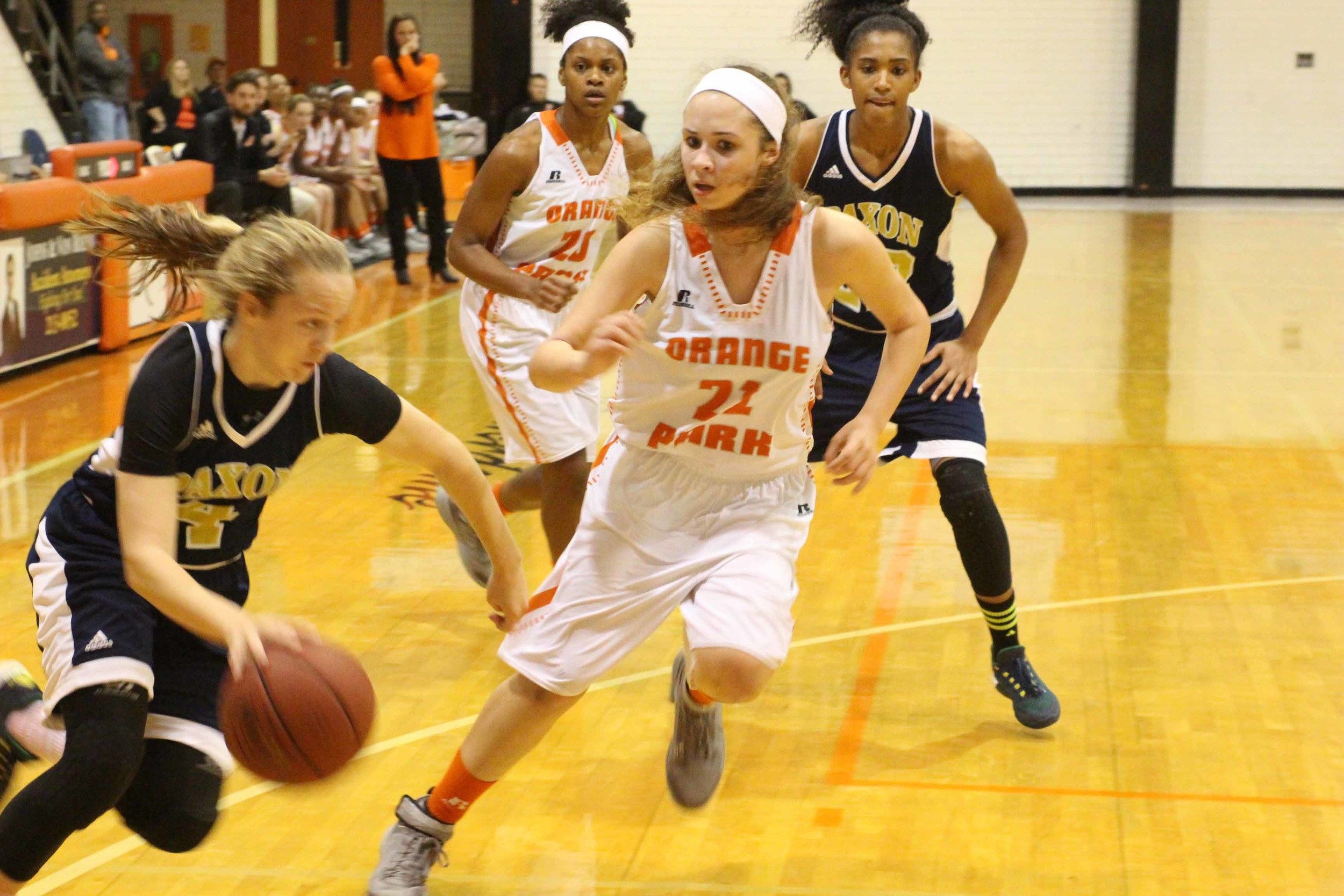 Orange Park High senior Gianni Ruemmeley was the driving force in a complete season turnaround, a district title and a region playoff win for the Lady Raiders.