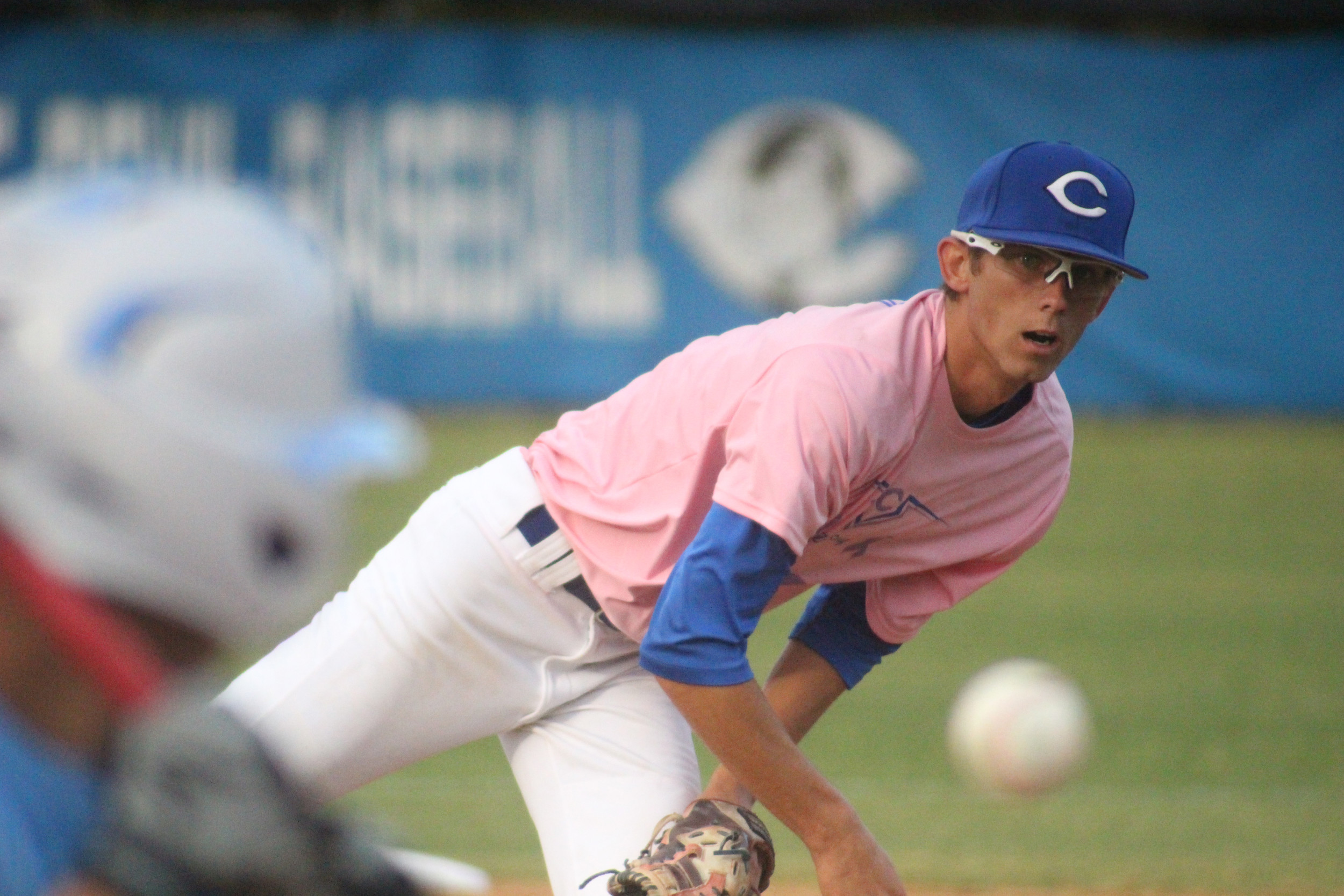 Clay pitcher Holden Alexander is top tosser for Blue Devils and needs strong game to put Clay back in region playoff hunt.