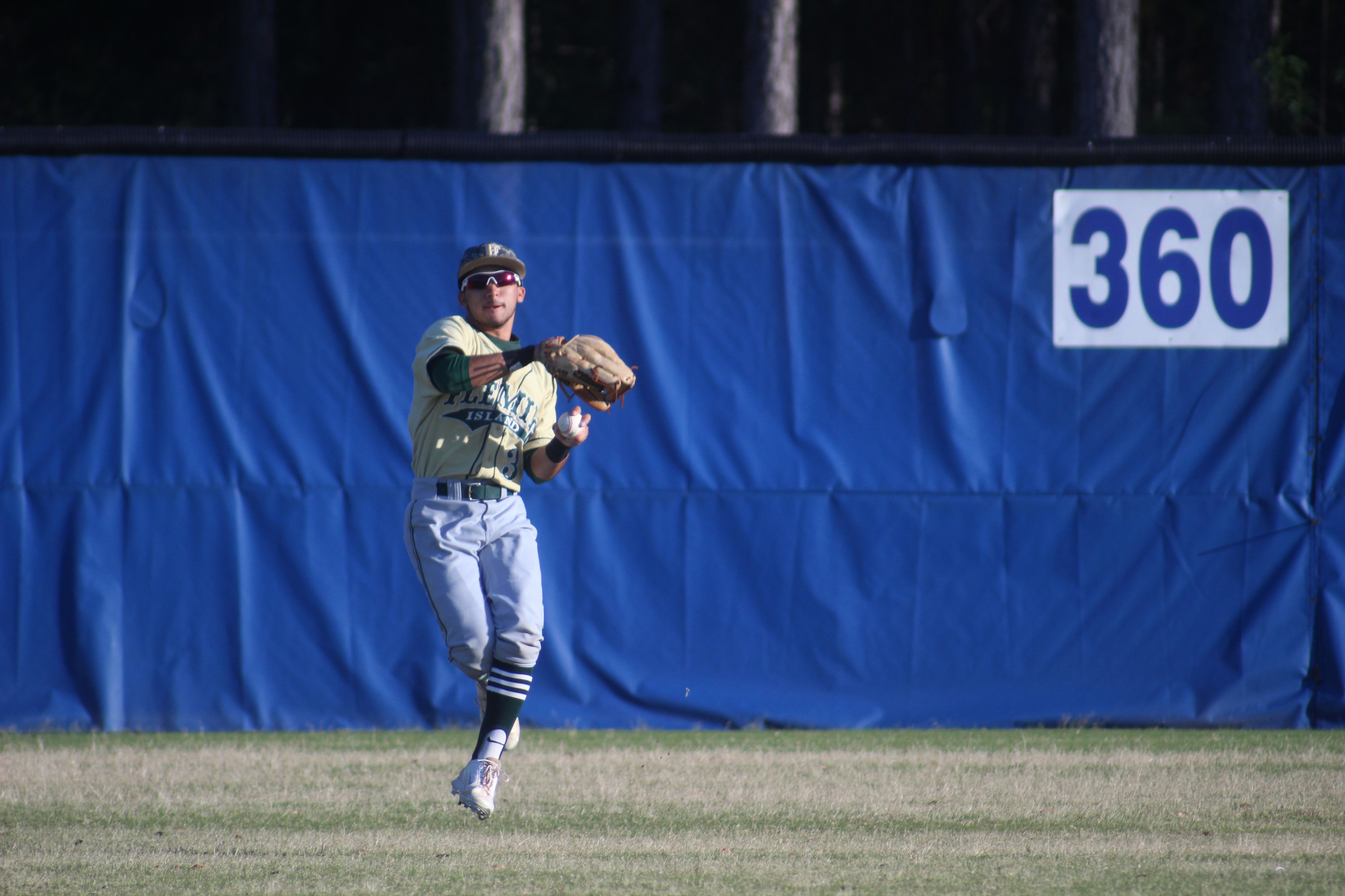 Fleming Island has speed in the outfield with fleet-footed Jordan Imperial, pictured, and Cory Solomon patrolling the long balls.
