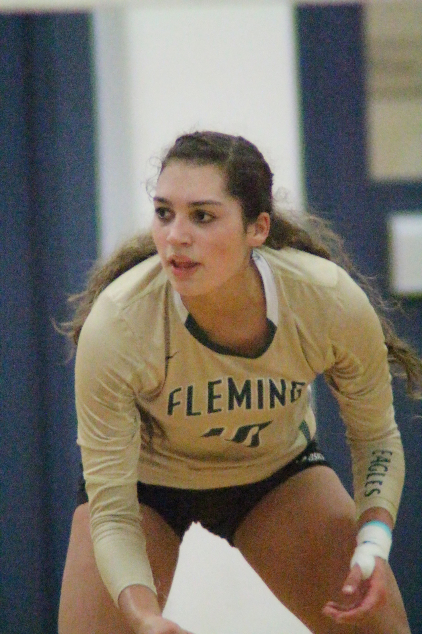 Fleming Island High libero Sydney Bates signed to continue her volleyball playing days at Towson State University in Maryland.