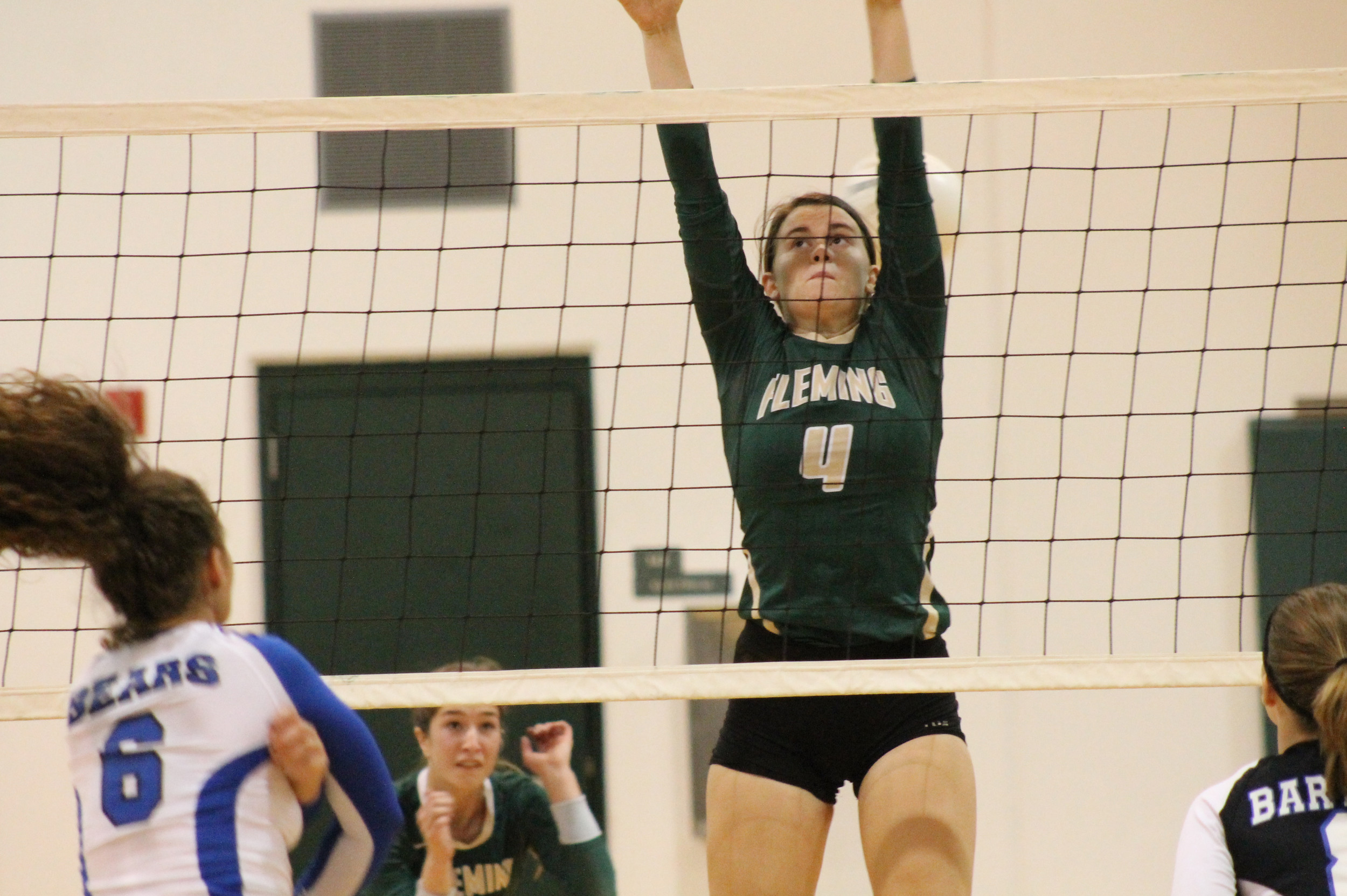 Fleming Island High middle blocker Olivia Rutledge has signed with Montevallo University in Alabama to continue her volleyball playing days.