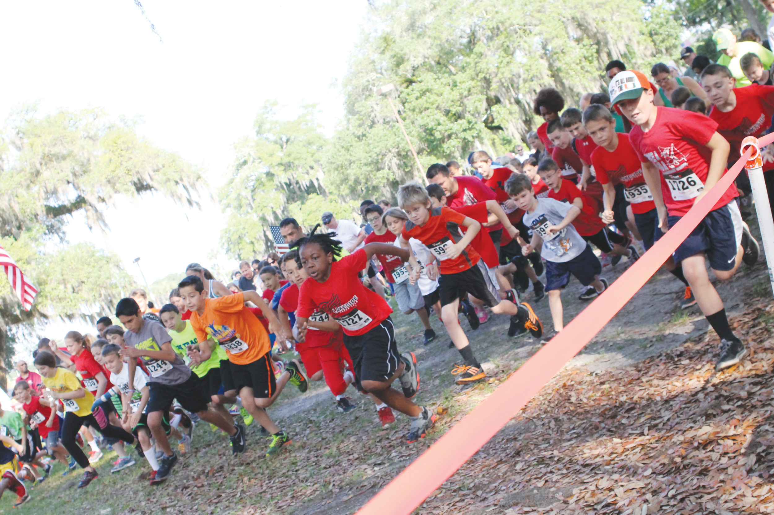 The annual Florida Striders Run to the Sun 8K race starts and finishes at the BestBet of Orange Park with an 8 a.m. start that benefits area elementary school run/walk clubs.