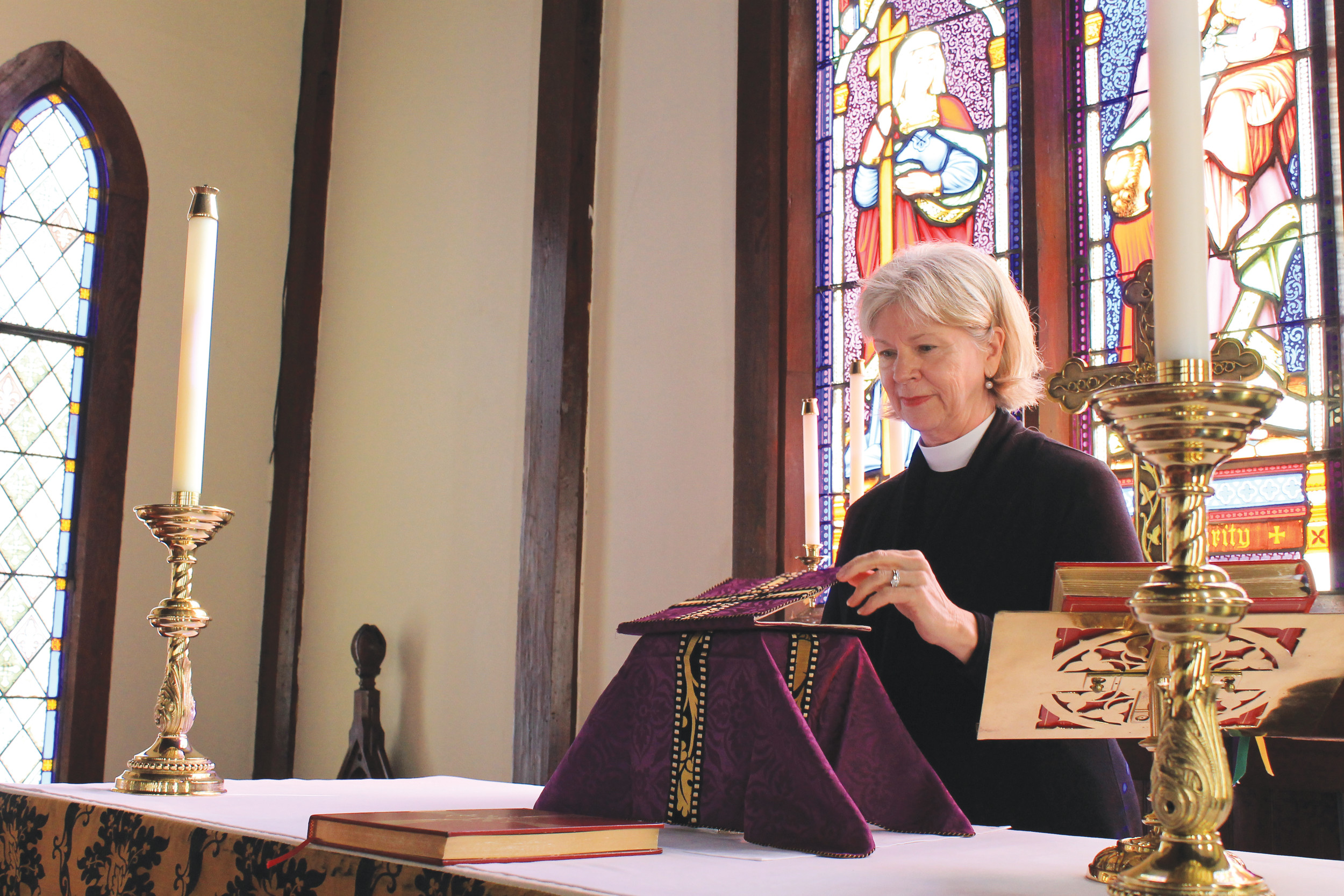 "Lent – known as Tessarakosti in Greek and Quadragesima in Latin, for ""the Forty,"" was in the early church, a time for fasting for 40 days to prepare for Easter. Rev. Celeste Tisdelle of St. Mary's Episcopal in Green Cove Springs said God wants us to become closer to Him during this season."