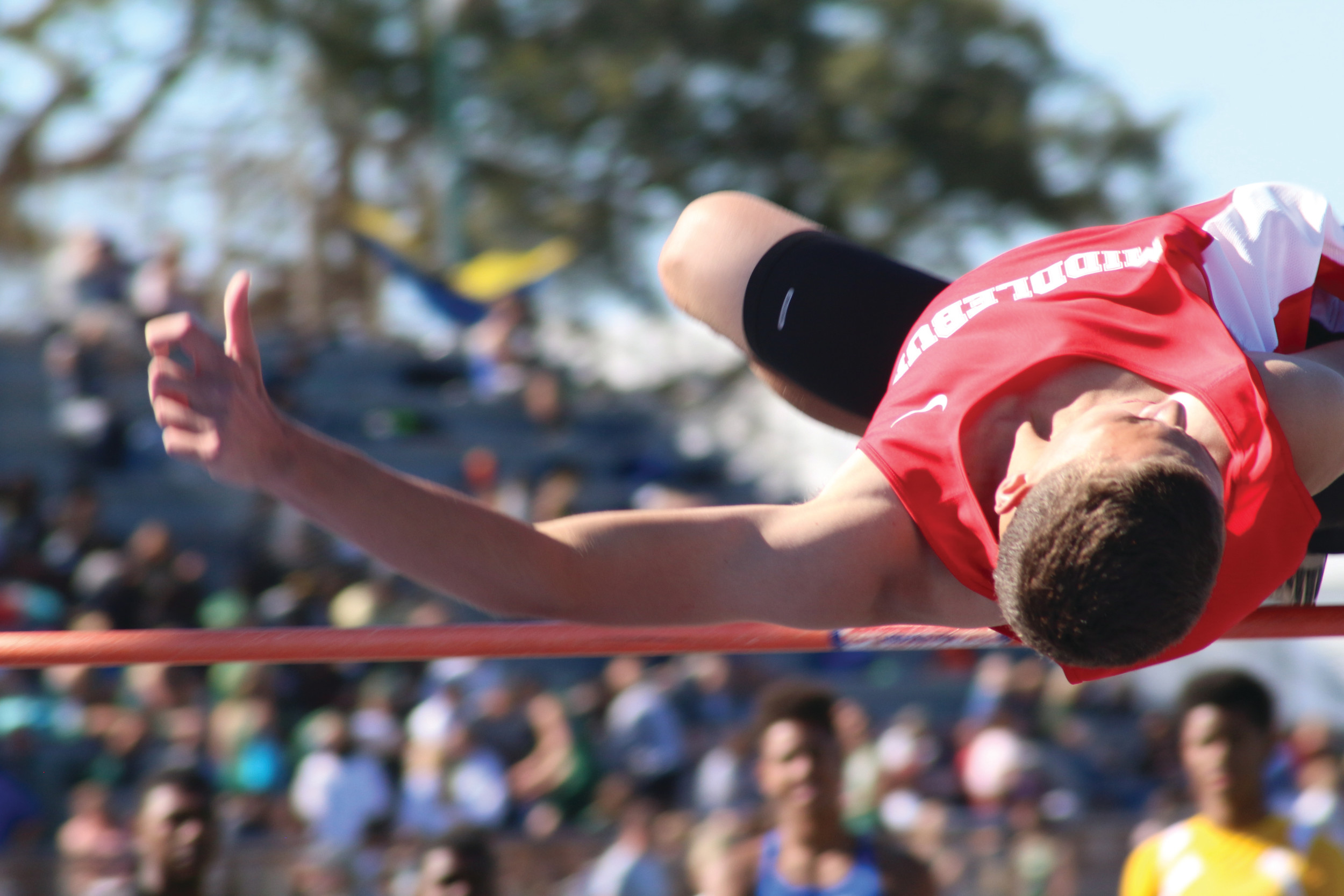 Middleburg High high jumper Bryce Quiett has quietly posted high jumps of 