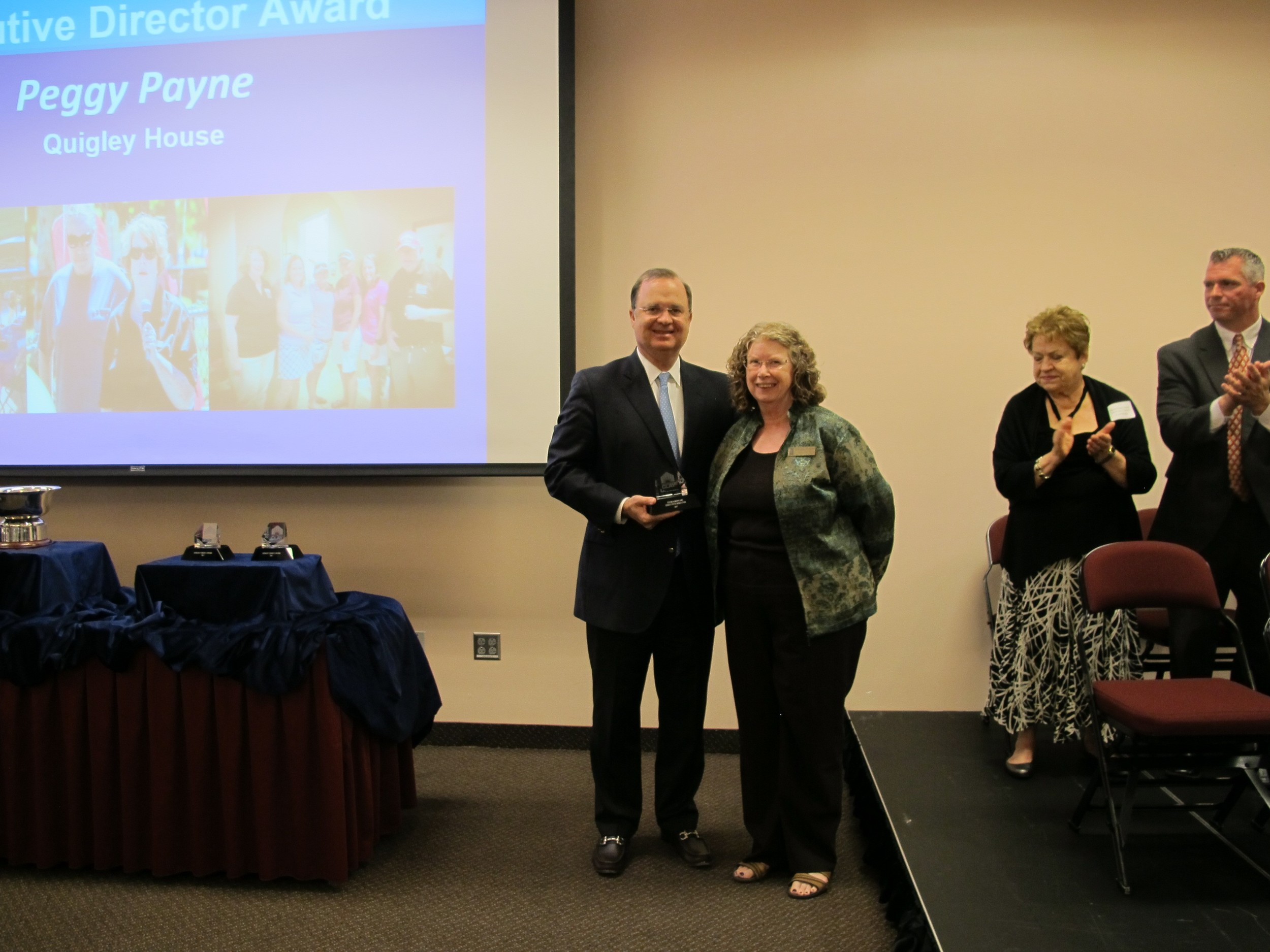 Peggy Payne of Quigley House Receives Extraordinary Executive Director Award.