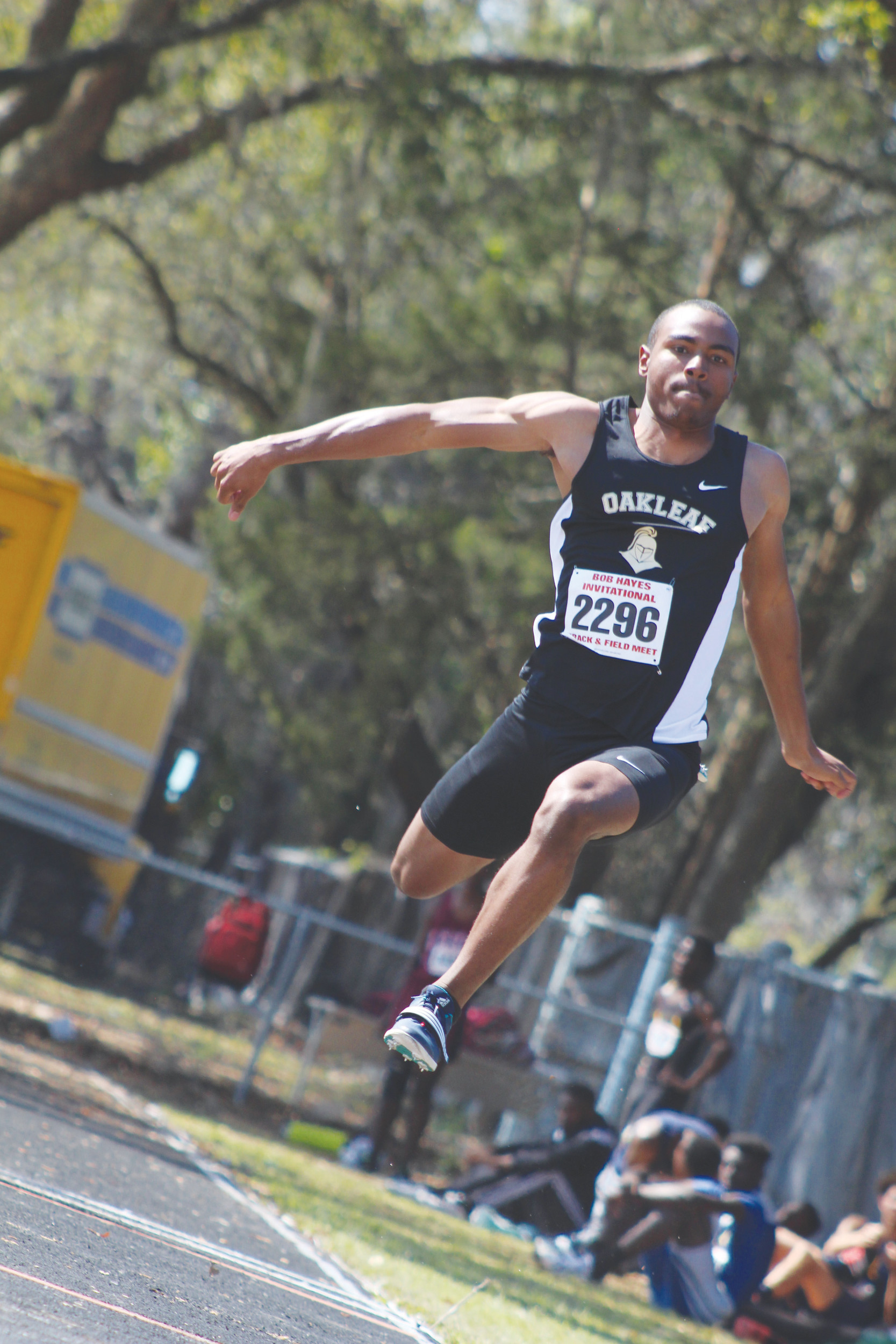 Oakleaf High junior Melvin Briley was lone gold medalist from track state championships.