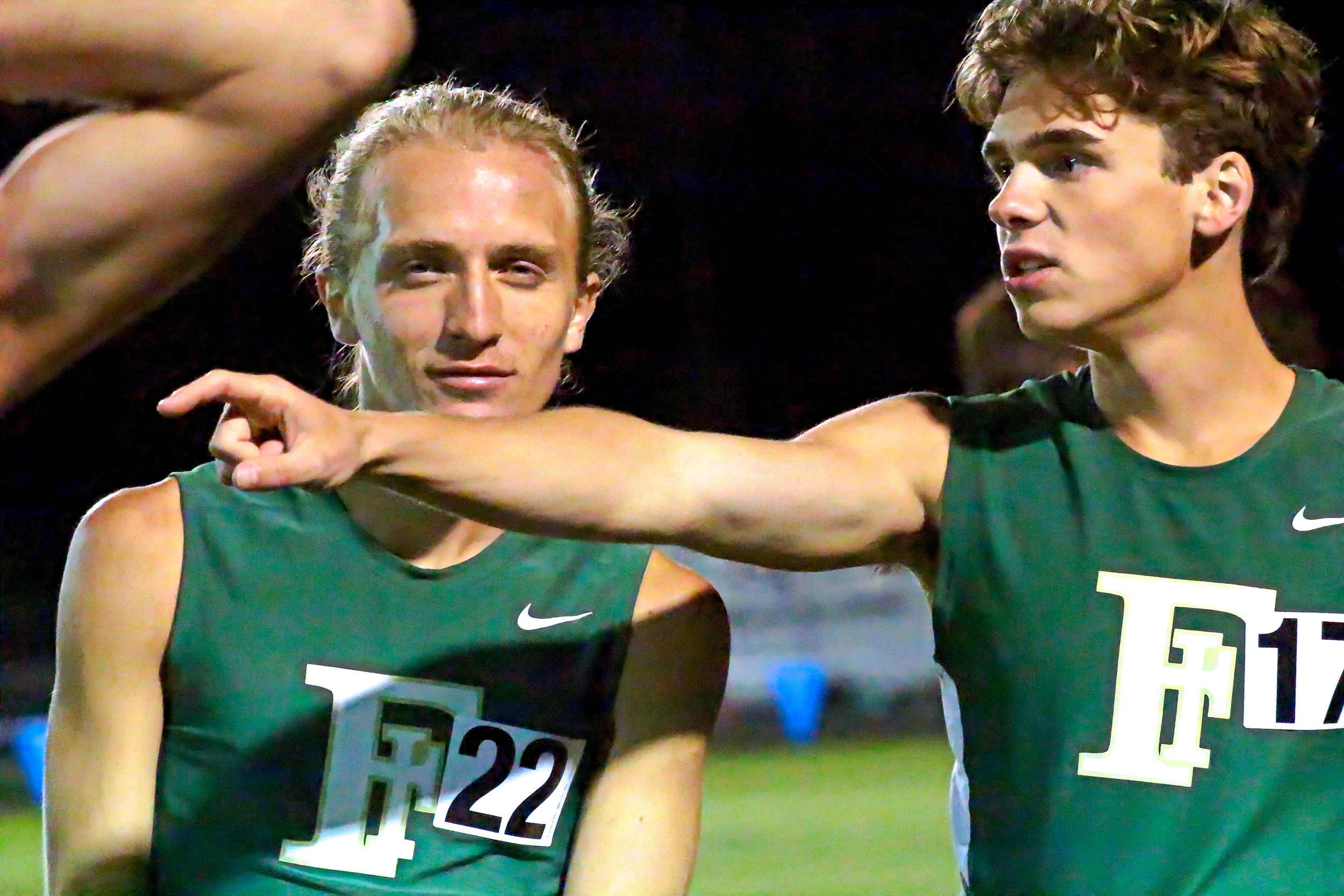 Fleming Island High's distance duo of Evan Fuller, left, and Andrew Miller, both juniors, had strong state meet finishes in the Class 4A 3200; 10th for Fuller, fourth for Miller.