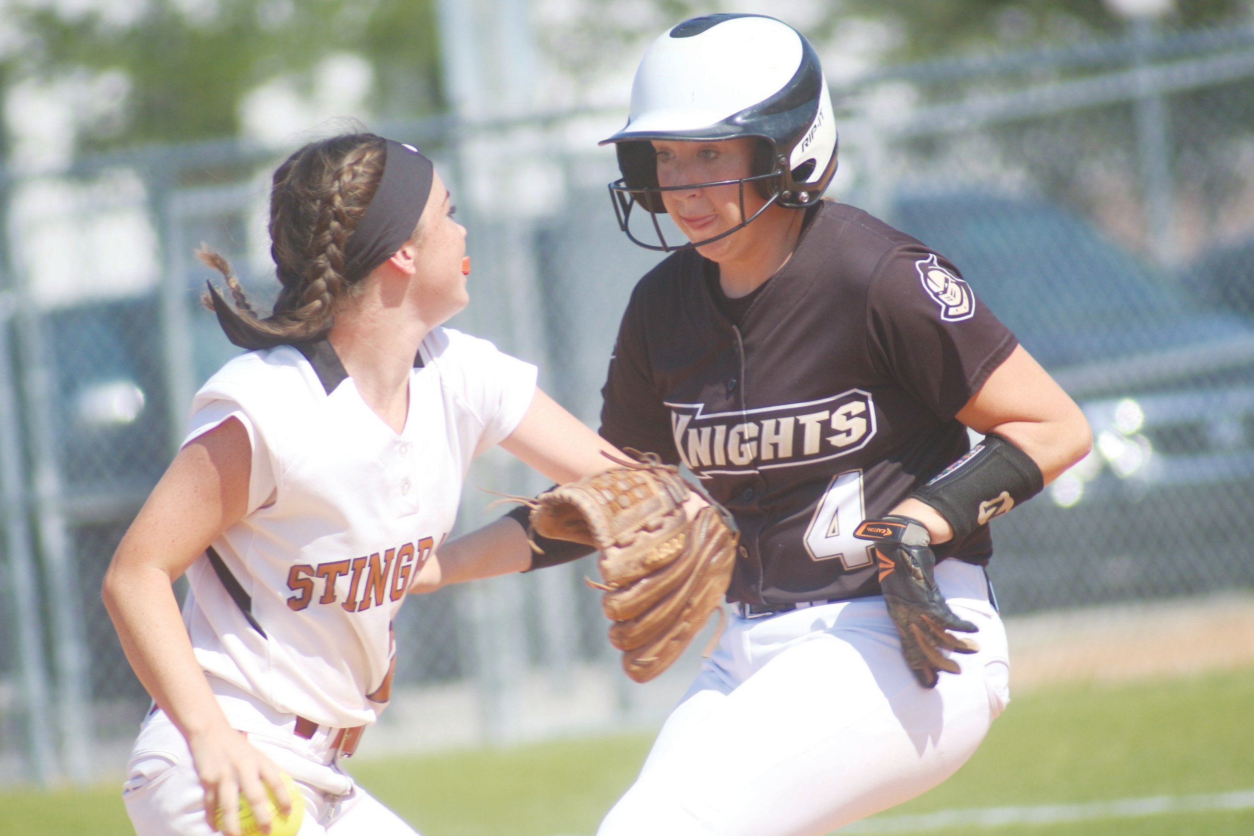 Oakleaf hitter Rebecca Koskey is high on-base hitter for Knights.