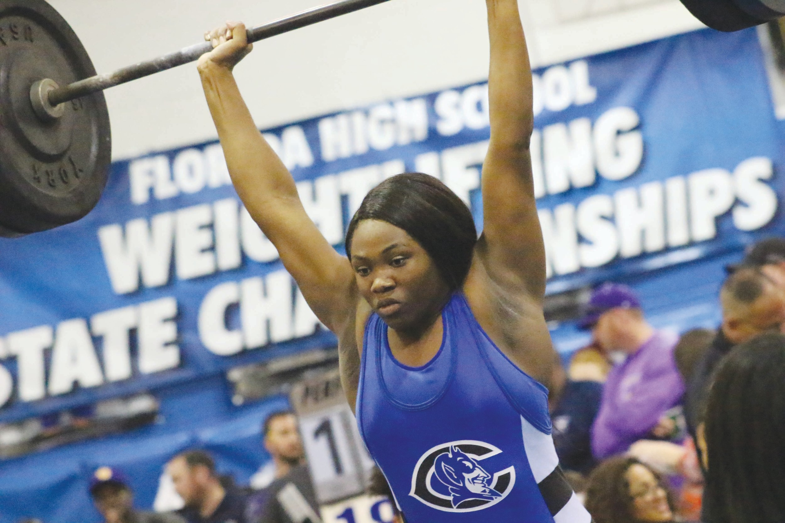 Clay High's Erykah Murray went big and went home with gold.