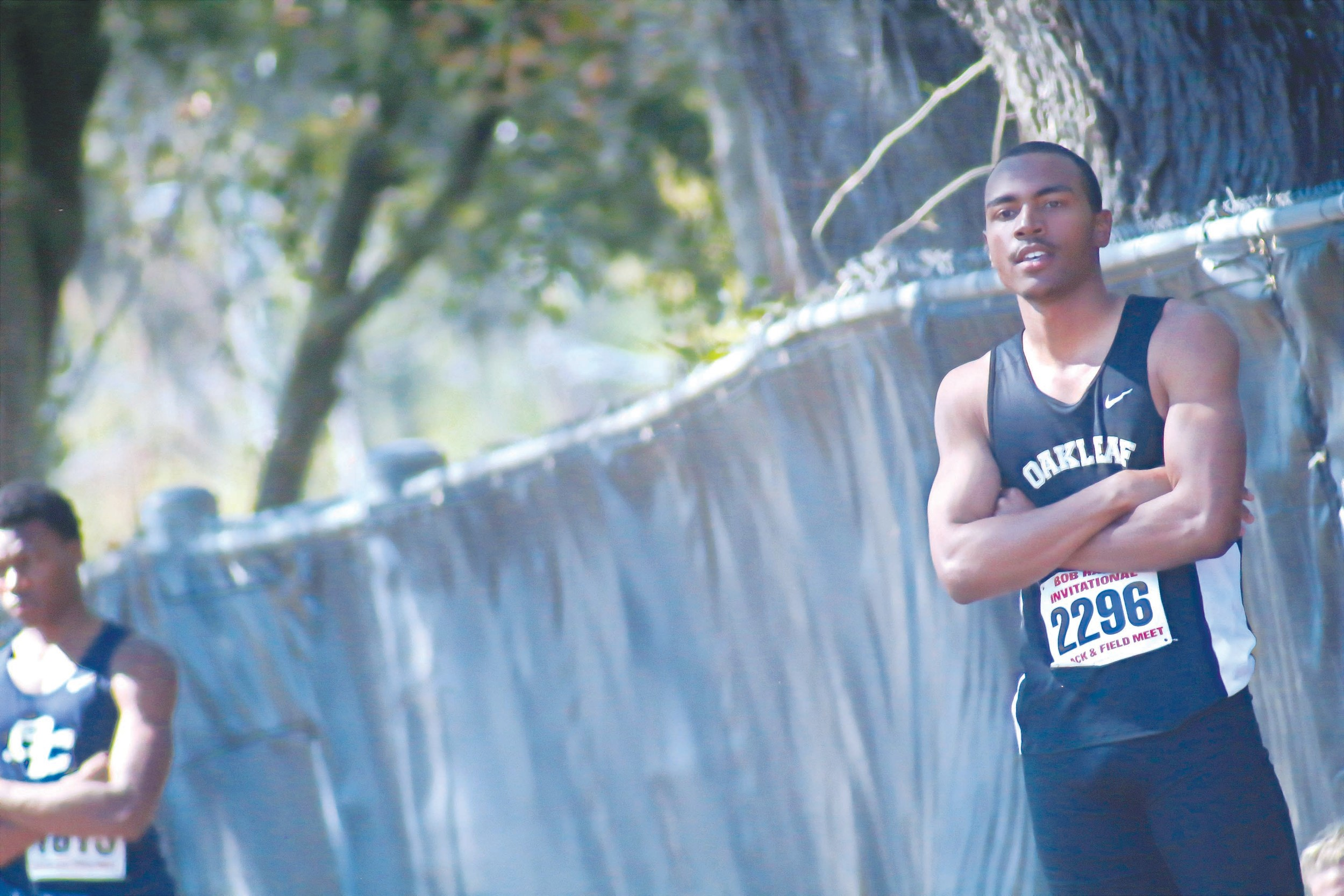 Oakleaf High junior triple jumper Melvin Briley stayed steady all season with consistently improving jump distances and withstood terrible track weather to win state gold.