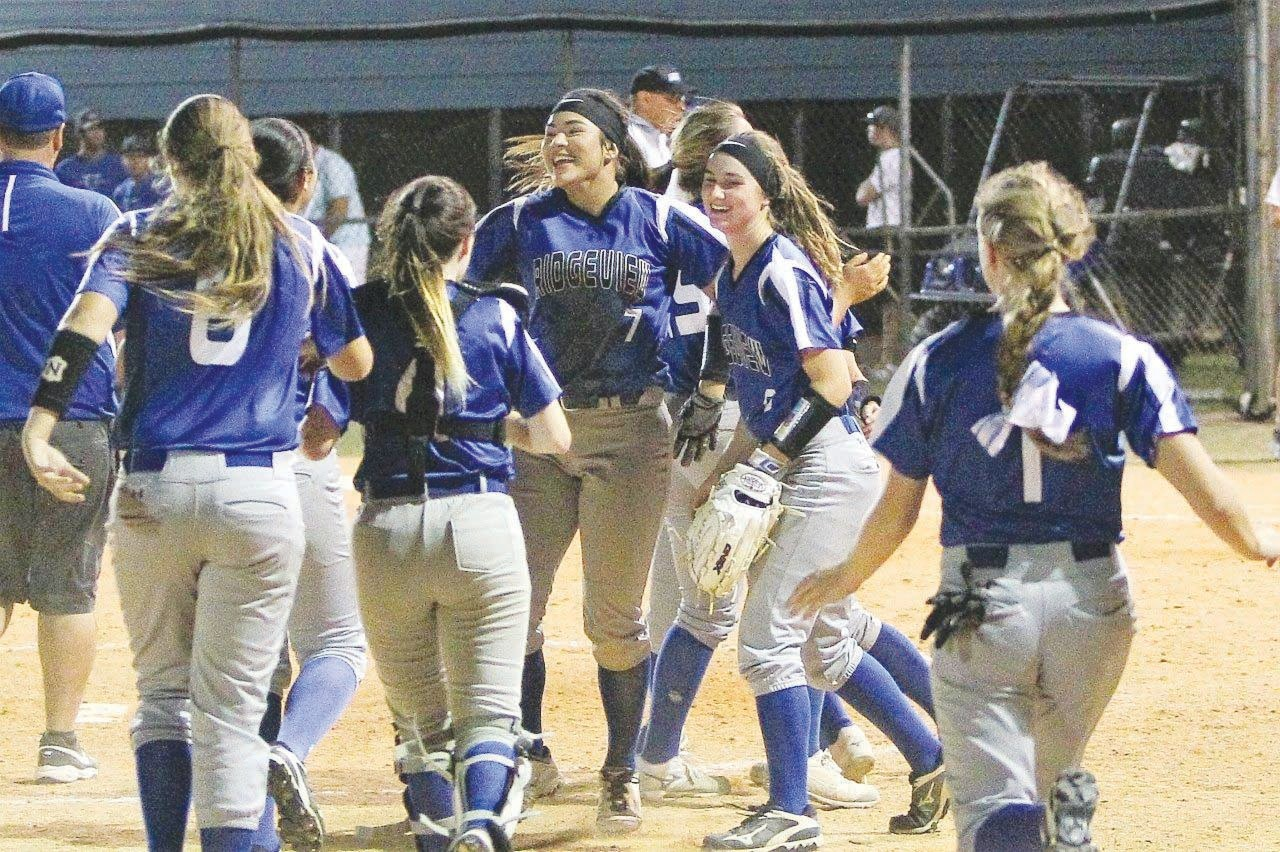 Ridgeview High softball had one of their best seasons under first -year coach Roger Harvey with a single in the ninth inning spelling playoff disaster for rival Clay High School.
