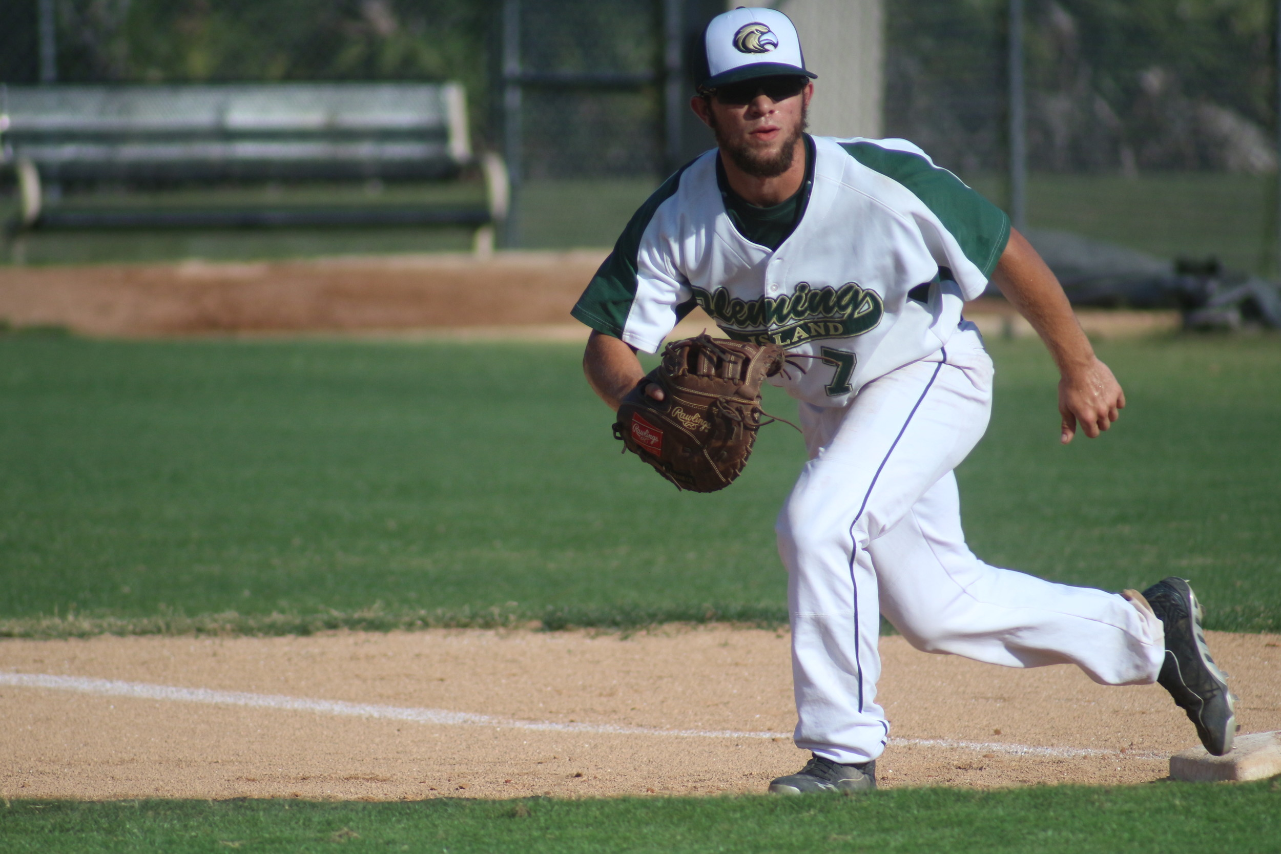 Fleming Island's playmaker was  Cory Solomon, an outfielder, pitcher and first baseman.