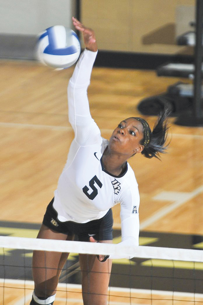 Orange Park's LaKia Bright is major power force for University of Central Florida attack.