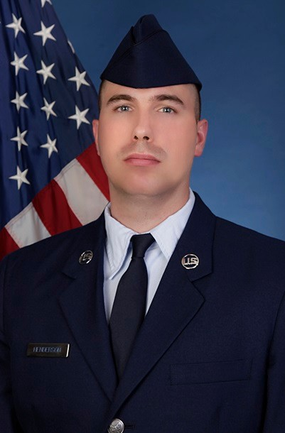 U.S. Air Force Airman 1st Class Chadwick B. Henderson