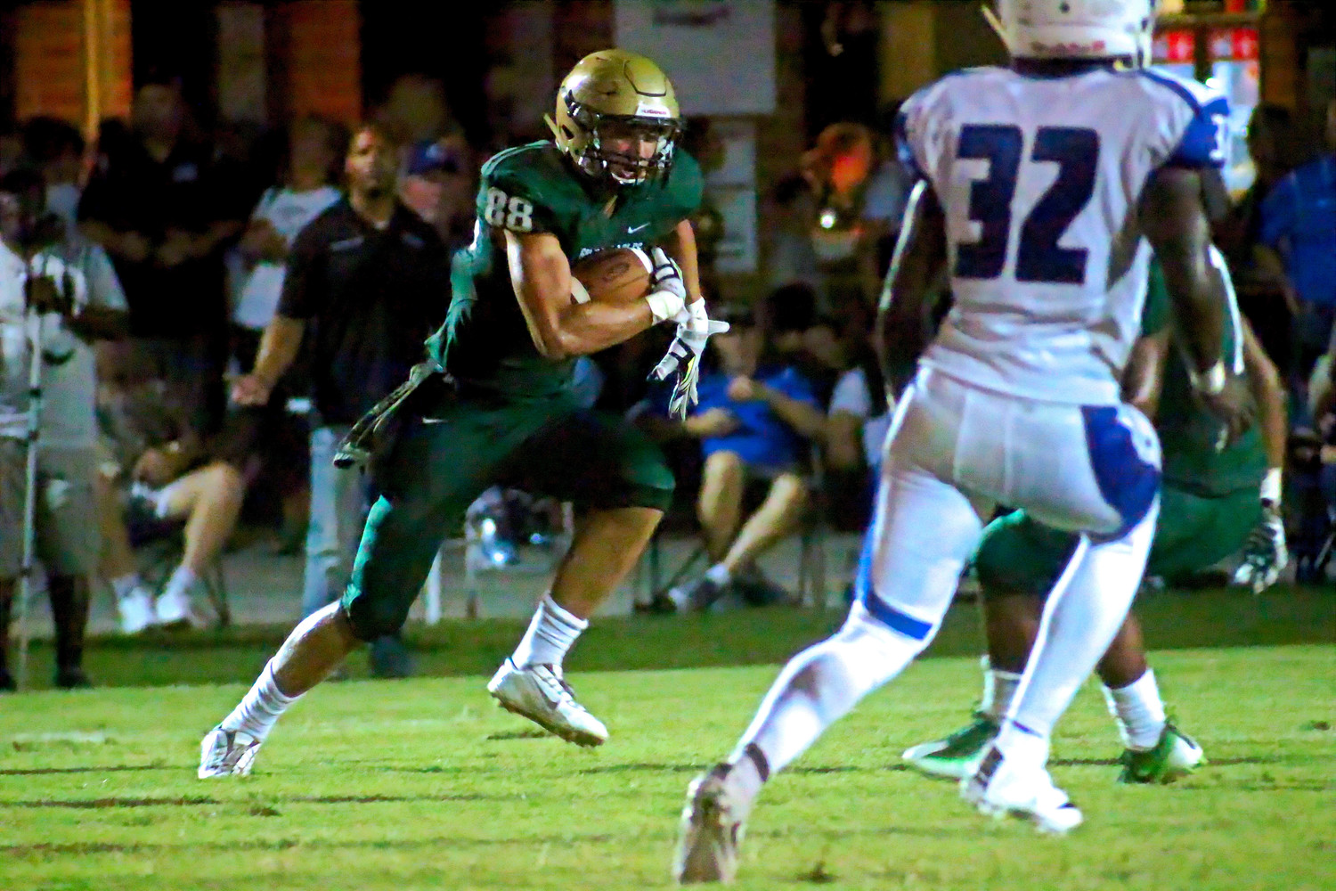 One key figure in the 2017 version will be returning tight end Nick Ferendo, who has become a reliable, over -the-middle pass catcher for either of two Fleming Island quarterbacks.
