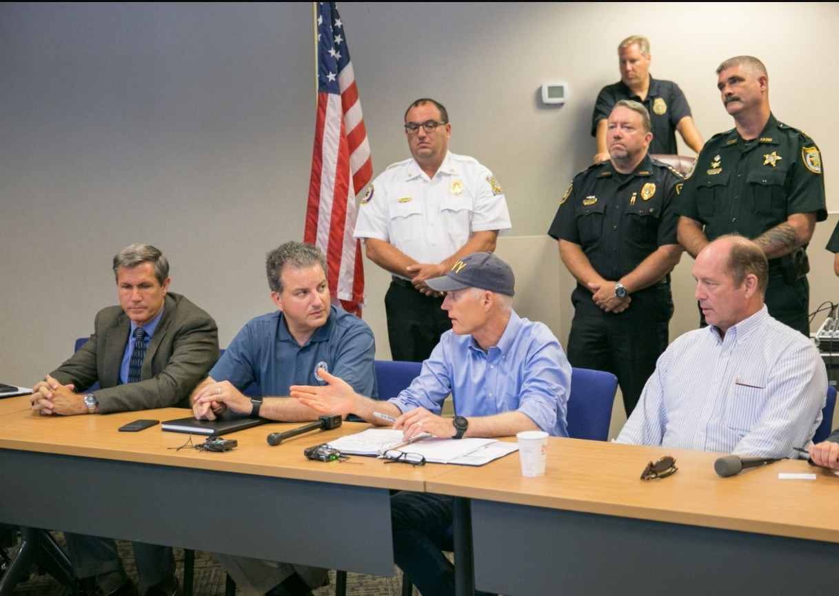 Gov. Scott announces license-free fishing for Florida first responders