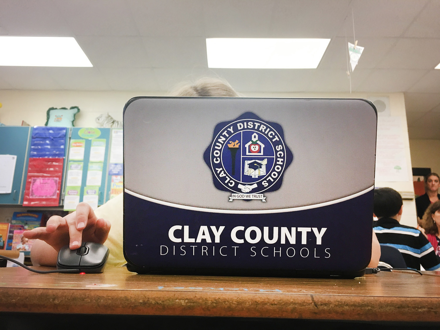 The Clay County school district has placed at least six Chromebooks in each classroom throughout the district as part of their larger effort to bring all the schools up to a higher standard of technological connectivity.
