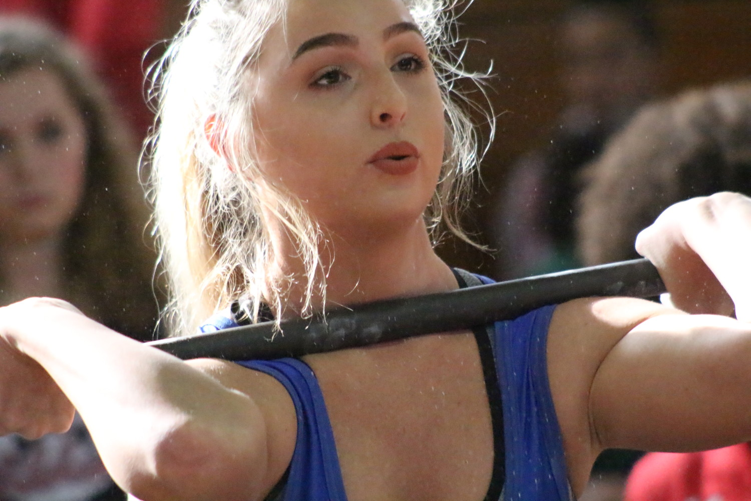Clay High's Jade Berger was top lifter at 154 at district 7-1A championships held Saturday at Baker County. Berger had tough battle with Baker County's Emma Self, both tied at 295 pound totals with Berger less misses.