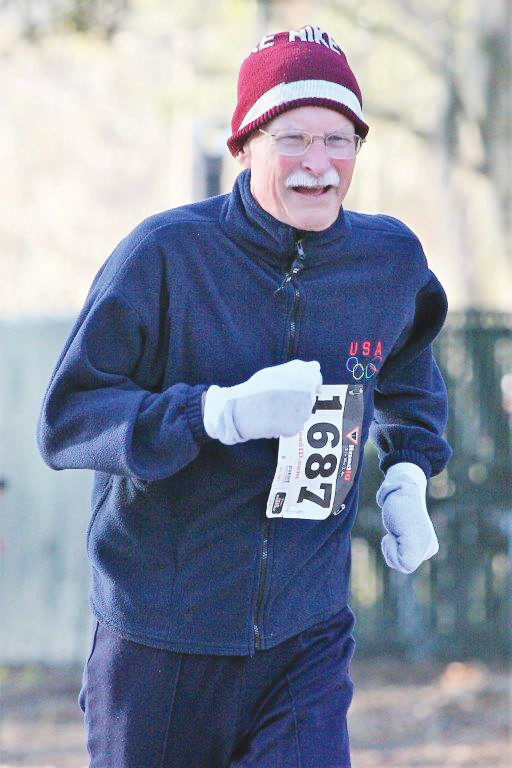 Ageless wonder Tom Graham, 74, got second in his age group in an impressive 26:27.