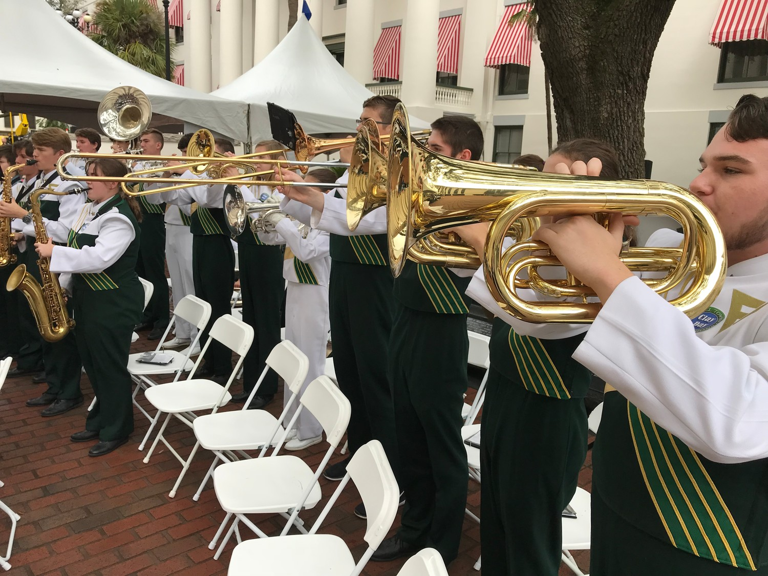 Members of the Fleming Island Band