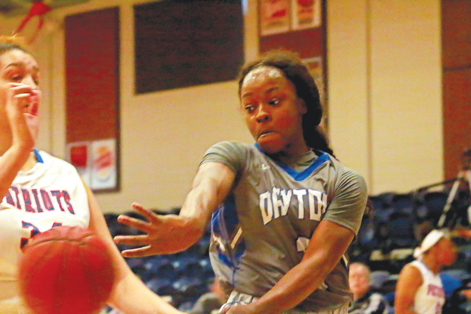 Daytona State College second year guard Destiny Arvinger, an Oakleaf High standout, has the Falcons in line for another shot at a conference title with a 16.8 points per game average with 3.4 assists and two steals per game.