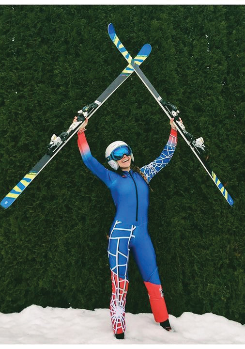 Natacha Mohbat, the top female skier in Lebanon, will compete in the slalom event at the XXIII Olympics in South Korea. She is a frequent visitor to her grandparents Eagle Harbor home, and even attended Fleming Island Elementary School for a time when she was younger.