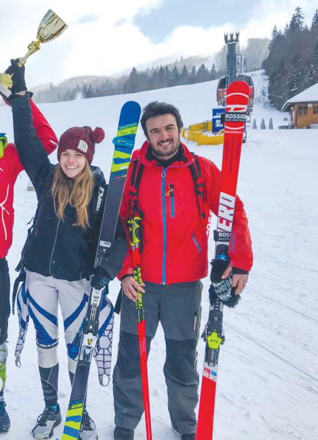 Natacha Mohbat and Allen Behlok, the top female and male skiers in Lebanon, will appear in the Winter Olympics in PyeongChang, South Korea. Natacha has spent much time over the years visiting her grandparents at Eagle Harbor.