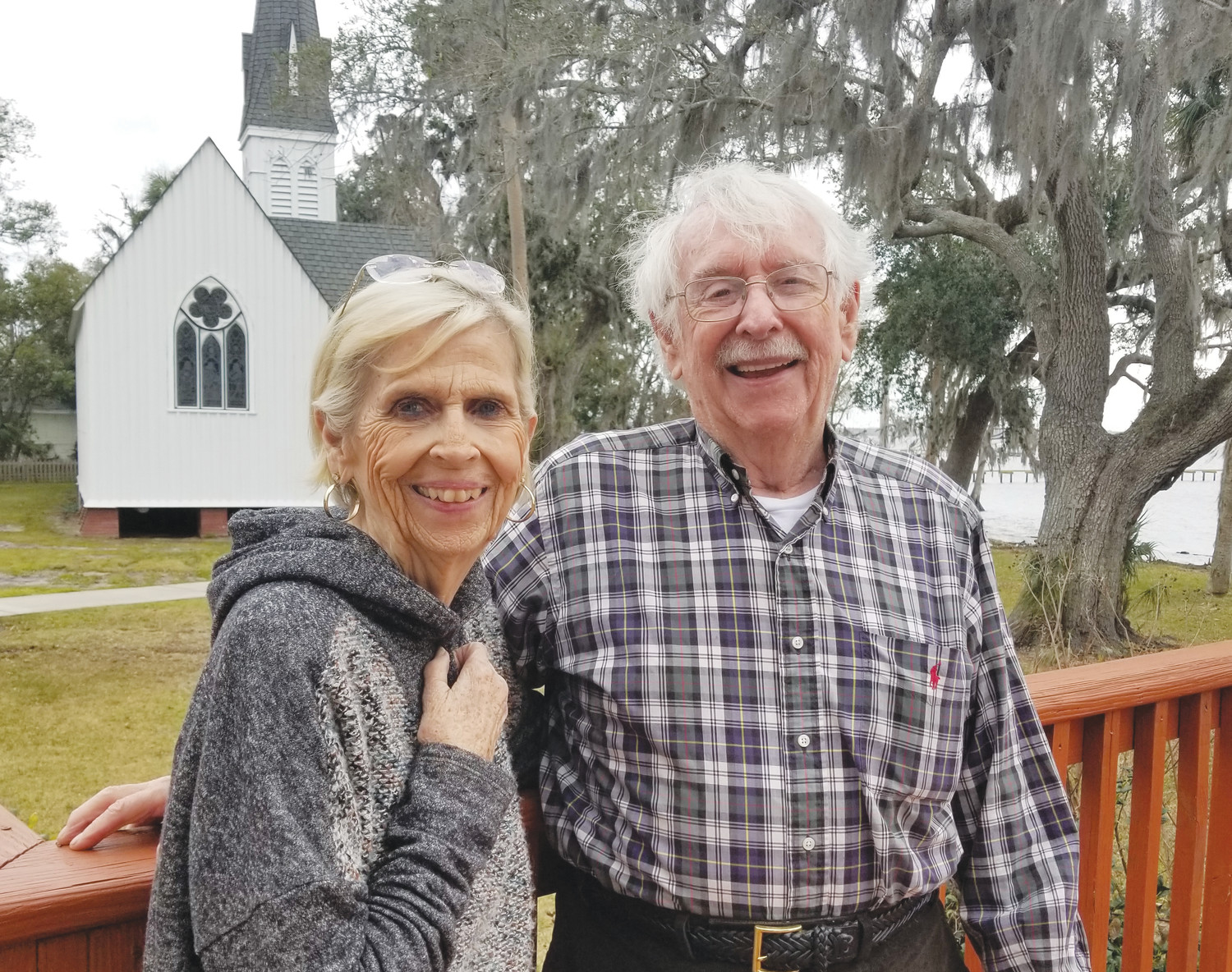 Susan and Alan Swain are the grandparents of Natacha Mohbat, who will compete in the Winter Olympics in South Korea. During her many extended visits to the Fleming Island area over the years, she attended church with her grandparents at St. Mary's Episcopal in Green Cove Springs.